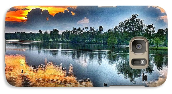Galaxy Case featuring the photograph Kentucky Sunset June 2016 by Sumoflam Photography