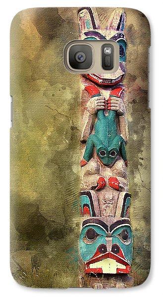 Ketchikan Alaska Totem Pole Galaxy S7 Case