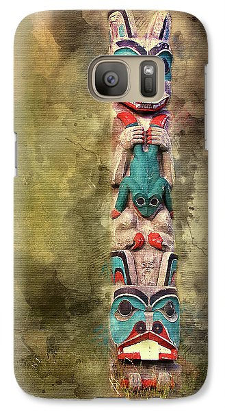 Ketchikan Alaska Totem Pole Galaxy S7 Case