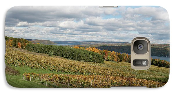 Galaxy Case featuring the photograph Keuka In Autumn by Joshua House