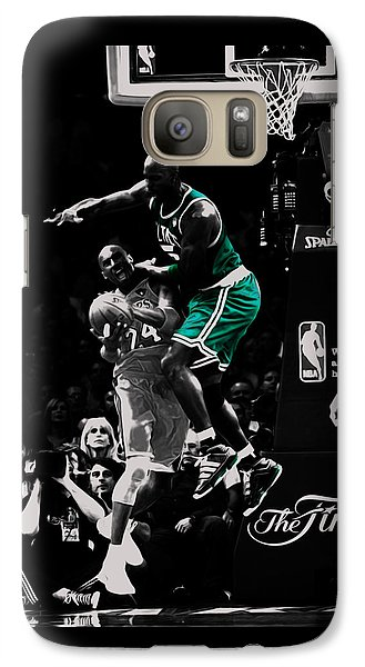 Kevin Garnett Not In Here Galaxy S7 Case by Brian Reaves