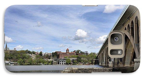 Key Bridge Into Georgetown Galaxy S7 Case by Brendan Reals