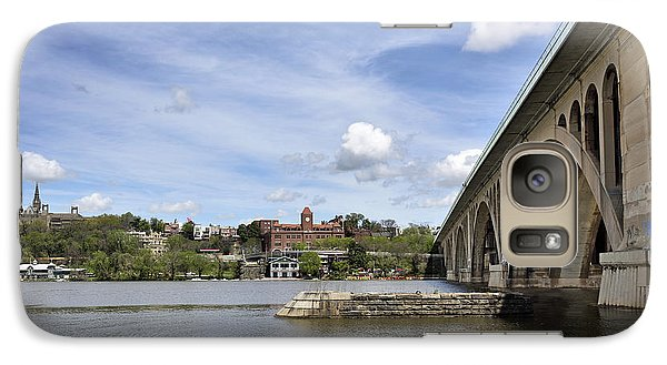 Key Bridge Into Georgetown Galaxy S7 Case by Brendan Reals