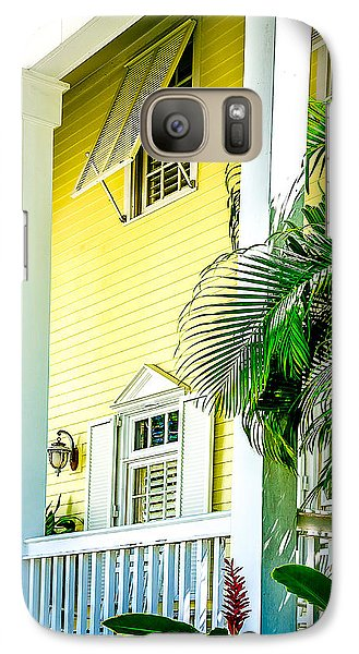 Galaxy Case featuring the photograph Key West Homes 15 by Julie Palencia