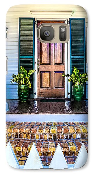 Galaxy Case featuring the photograph Key West Homes 16 by Julie Palencia