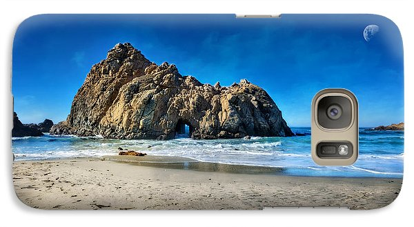 Galaxy Case featuring the photograph Keyhole Rock At Pheiffer Beach #14 - Big Sur, Ca by Jennifer Rondinelli Reilly - Fine Art Photography