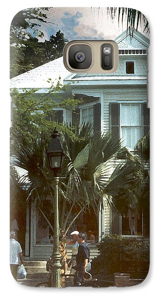 Galaxy Case featuring the photograph Keywest by Steve Karol