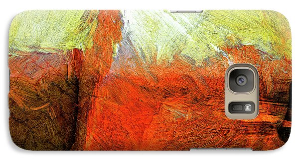 Galaxy Case featuring the painting Kilauea by Dominic Piperata
