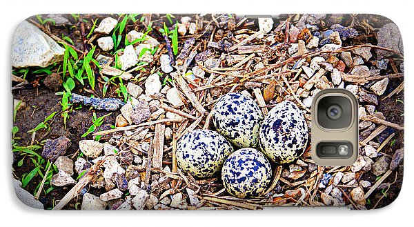 Killdeer Nest Galaxy Case by Cricket Hackmann