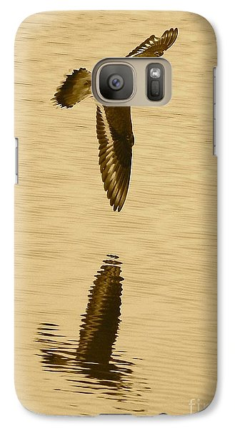 Killdeer Over The Pond Galaxy S7 Case by Carol Groenen