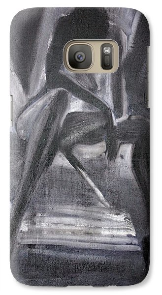 Galaxy Case featuring the painting Killer by Jarko Aka Lui Grande