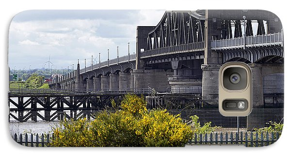 Galaxy Case featuring the photograph Kincardine Bridge by Jeremy Lavender Photography