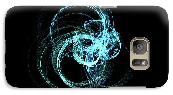 Galaxy Case featuring the digital art Kinetic09 by A Dx