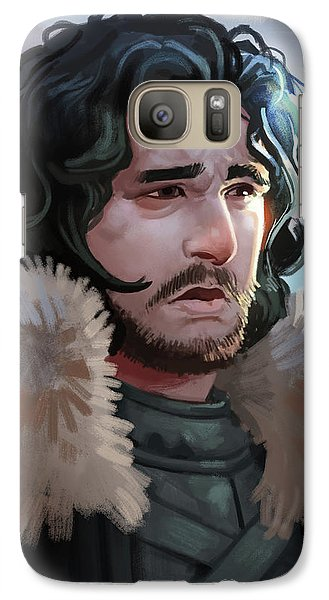 Galaxy Case featuring the painting King In The North by Michael Myers