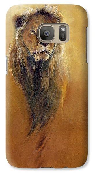 King Leo Galaxy Case by Odile Kidd