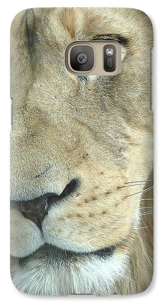 Galaxy Case featuring the photograph King by Margaret Bobb