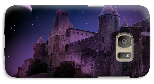 Galaxy Case featuring the photograph King Of My Castle by Bernd Hau