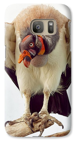 Galaxy Case featuring the photograph King Of The Birds by Cheri McEachin