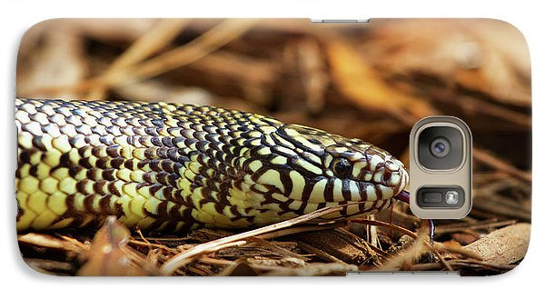 Galaxy Case featuring the photograph King Snake 2 by Arthur Dodd