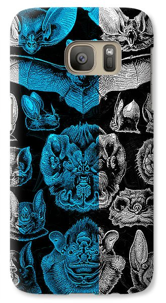 Galaxy Case featuring the digital art Kingdom Of The Silver Bats by Serge Averbukh