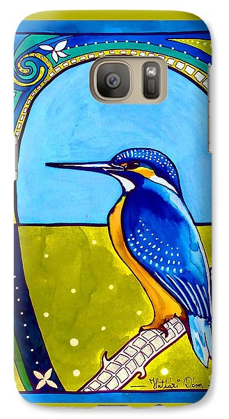 Kingfisher Galaxy S7 Case by Dora Hathazi Mendes