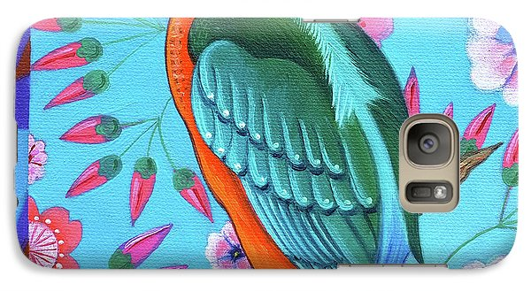 Kingfisher Galaxy Case by Jane Tattersfield