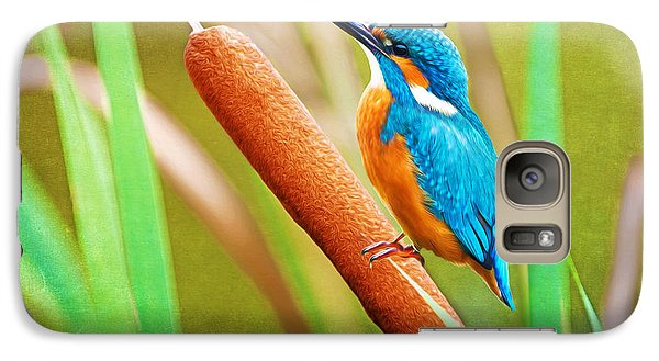 Kingfisher Galaxy S7 Case - Kingfisher by Laura D Young