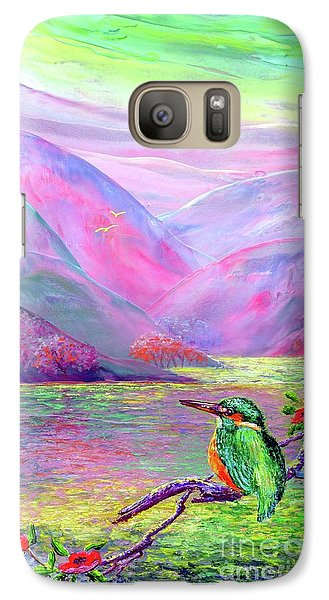 Kingfisher, Shimmering Streams Galaxy S7 Case