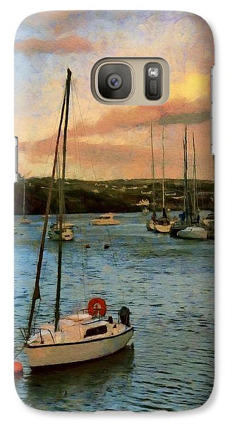 Galaxy Case featuring the painting Kinsale Harbour Evening by Jeff Kolker