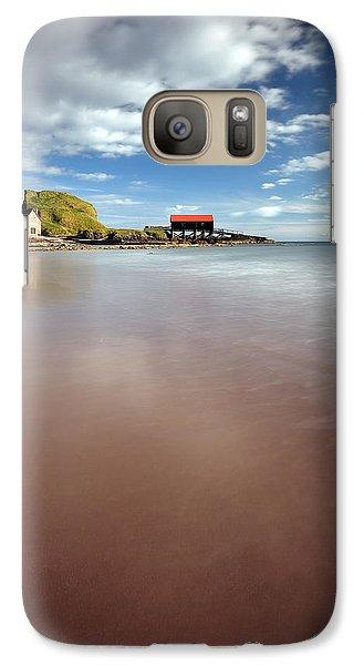 Kintyre Beach Galaxy S7 Case