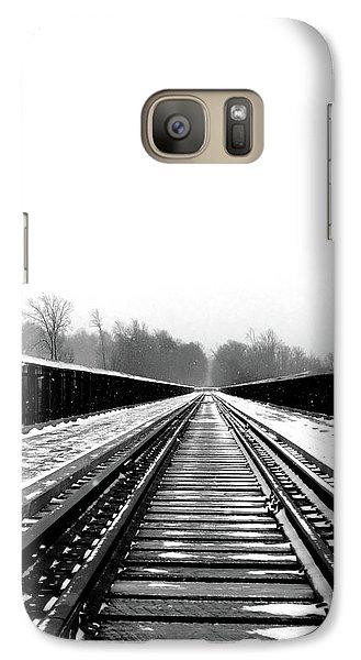 Galaxy Case featuring the digital art Kinzua Bridge Skywalk by Sharon Batdorf