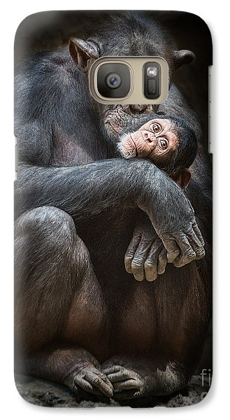 Kiss From Mom Galaxy S7 Case
