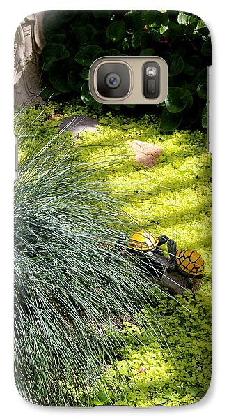 Galaxy Case featuring the photograph Kissing Cousins by Marie Neder
