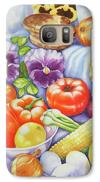 Galaxy Case featuring the painting Kitchen Symphony by Inese Poga
