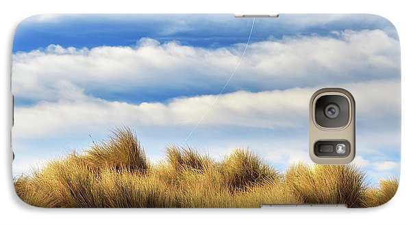 Galaxy Case featuring the photograph Kite Over The Hill by James Eddy