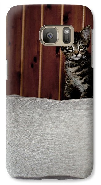 Galaxy Case featuring the photograph Kitty by Laura Melis