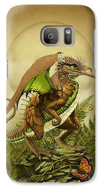Galaxy Case featuring the digital art Kiwi Dragon by Stanley Morrison
