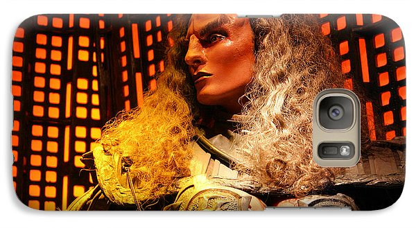 Galaxy Case featuring the photograph Klingon by Kristin Elmquist