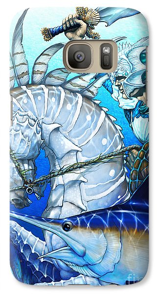 Galaxy Case featuring the digital art Knight Of Swords by Stanley Morrison