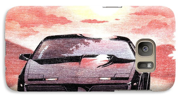 Galaxy Case featuring the digital art Knight Rider by Gina Dsgn