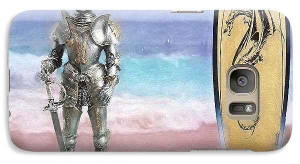 Galaxy Case featuring the painting Knights Landing by Michael Cleere
