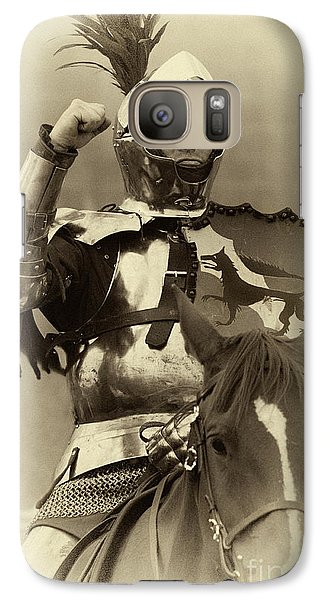Galaxy Case featuring the photograph Knights Of Old 16 by Bob Christopher