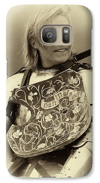 Galaxy Case featuring the photograph Knights Of Old 17 by Bob Christopher