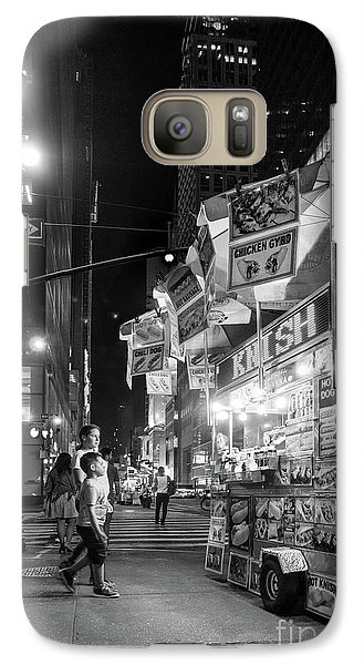 Galaxy Case featuring the photograph Knish, New York City  -17831-17832-bw by John Bald
