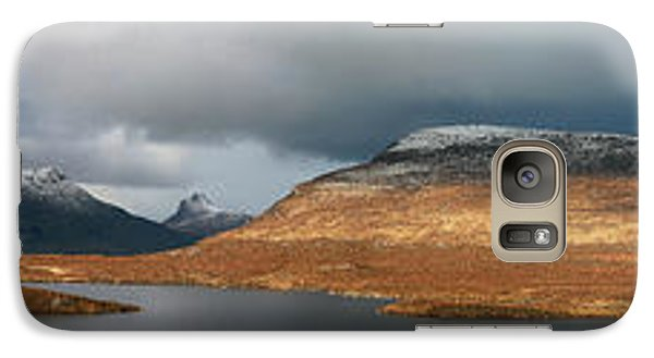 Galaxy Case featuring the photograph Knockan Crag Mountain View by Grant Glendinning