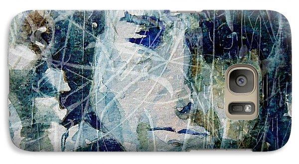 Bob Dylan Galaxy S7 Case - Knocking On Heaven's Door by Paul Lovering
