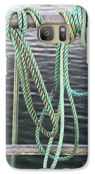 Galaxy Case featuring the photograph Knot Of My Warf II by Stephen Mitchell