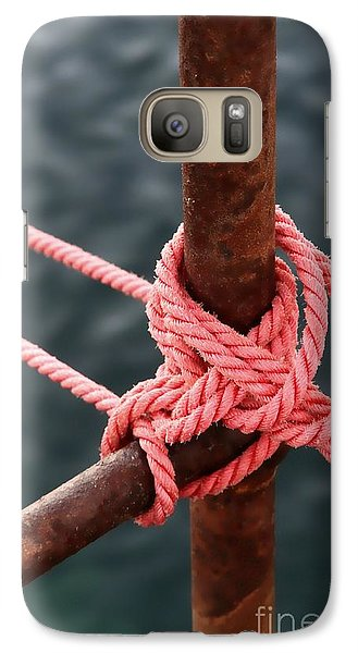 Galaxy Case featuring the photograph Knot On My Warf IIi by Stephen Mitchell