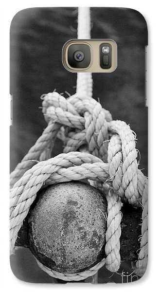 Galaxy Case featuring the photograph Knot On My Warf Iv by Stephen Mitchell