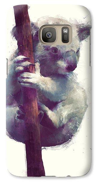 Koala Galaxy S7 Case - Koala by Amy Hamilton
